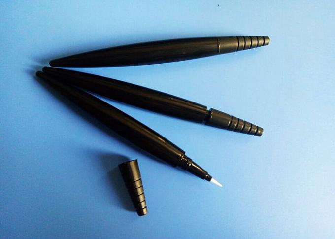ABS Material Eyeliner Pencil Packaging Streamline Shape With Any Color