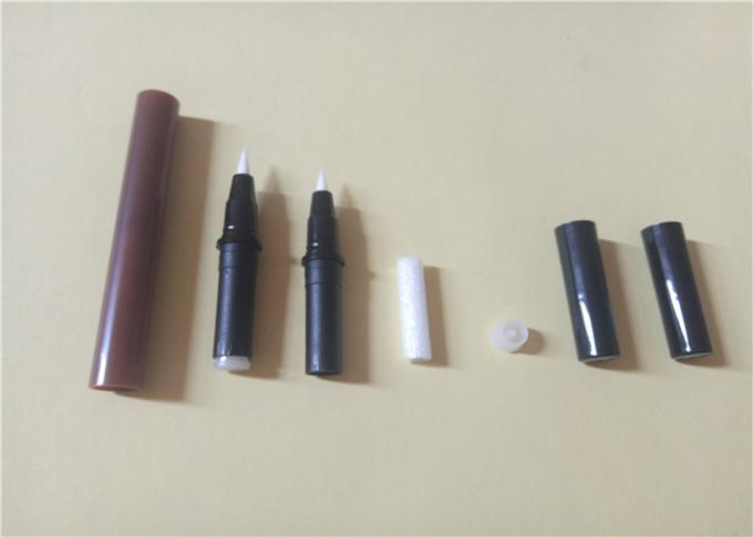 Customizable ABS Double Ended EyeLiner Pencil Packaging 141.3 * 11.5mm