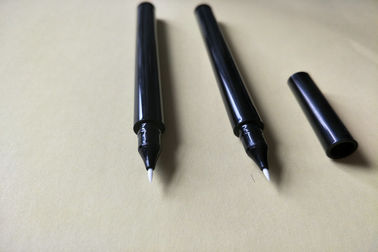 Customizable Color Empty Cosmetic Container , Plastic Eyeliner Pencil 125.3 * 8.7mm