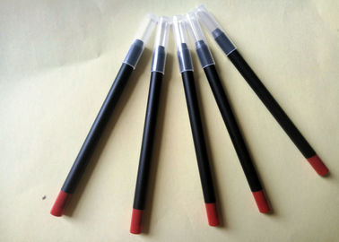 Long Lasting Red Lipstick Pencil PVC High Performance Simple Design ISO