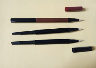 ABS Waterproof Double Ended EyeLiner Pencil Packaging Silk Screen Printing