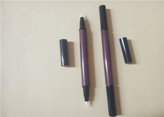 China Customizable ABS Double Ended EyeLiner Pencil Packaging 141.3 * 11.5mm supplier