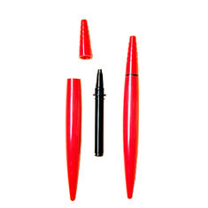 Beautiful Shape Empty Eyeliner Pencil , Empty Cosmetic Pencil Silk Printing